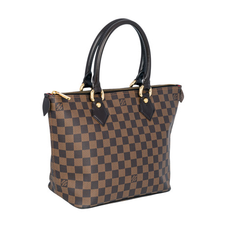 Louis Vuitton // Saleya Pm Handbag // Brown // Pre-Owned