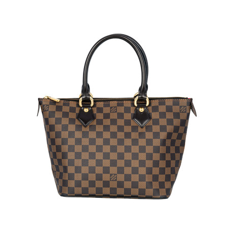 Louis Vuitton // Saleya Pm Handbag // Brown // Pre-Owned