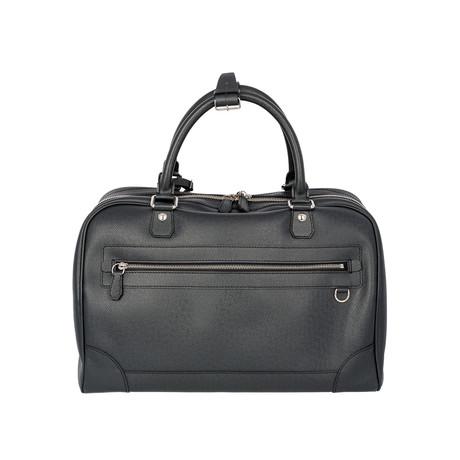 Louis Vuitton // Leather Taiga Stanislav PM Travel Bag // Black // Pre-Owned