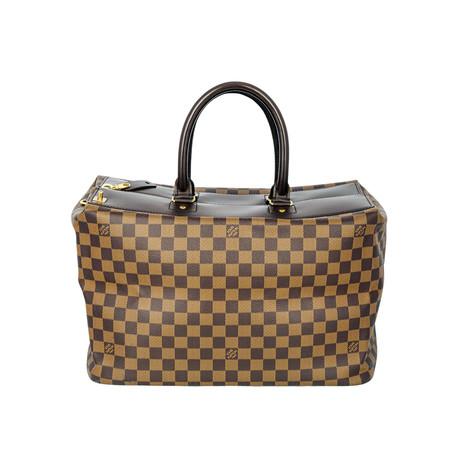 Louis Vuitton // Damier Ebene Canvas Greenwich PM Bag // Brown // Pre-Owned