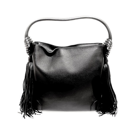 Christian Louboutin // Leather Bag // Black // Pre-Owned
