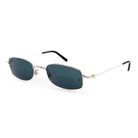 Cartier // Unisex SAD89PZ4 Sunglasses // Platinum