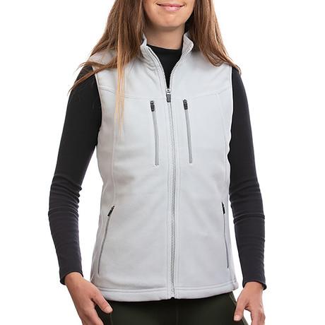 Women's Fireside Fleece Vest // Ash (XS)