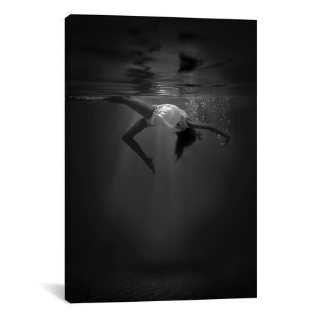 """The Little Mermaid // Cesare Sent (12""""W x 18""""H x 0.75""""D)"""