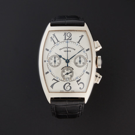Franck Muller Cintree Curvex Chronograph Automatic // 6850 CC AT // Pre-Owned