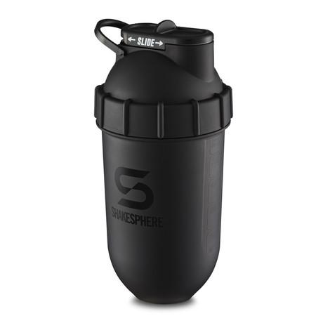 ShakeSphere Tumbler // 700mL // Matte Black + Black Logo