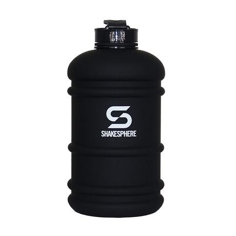 ShakeSphere Hydration Jug // 2.2 Liter // Matte Black + White Logo