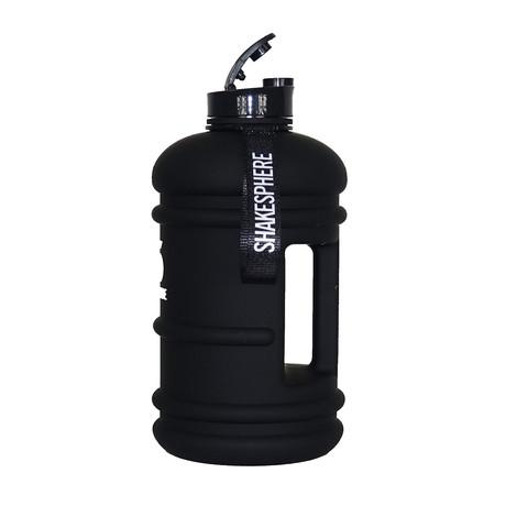 ShakeSphere Hydration Jug // 2.2 Litre // Matte Black + White Logo