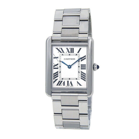 Cartier Ladies Tank Solo Quartz // W5200014 // Pre-Owned