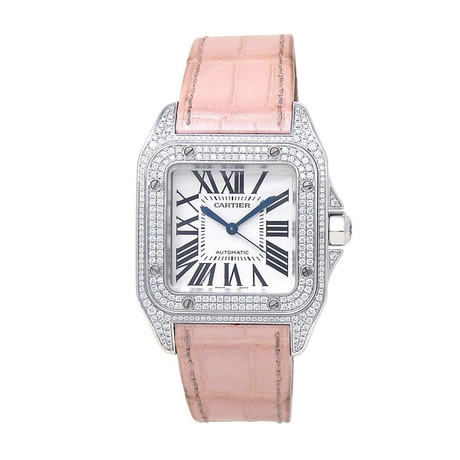 Cartier Ladies Santos 100 Automatic // 2881 // Pre-Owned