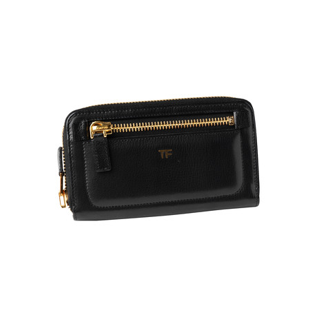 Women's Leather Wallet V1 // Black