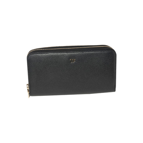 Women's Leather Wallet V2 // Black