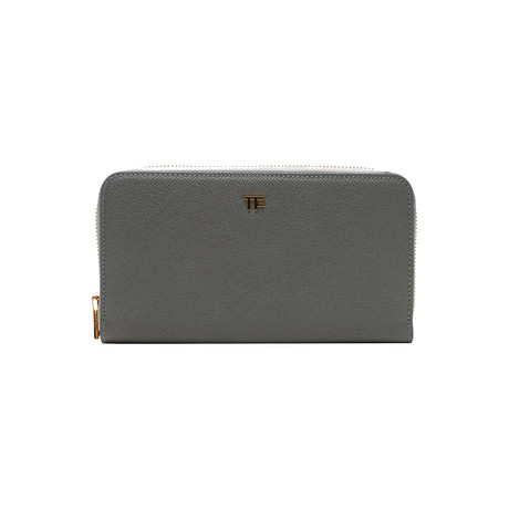 Women's Leather Wallet V1 // Gray