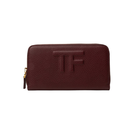 Women's Leather Wallet // Red