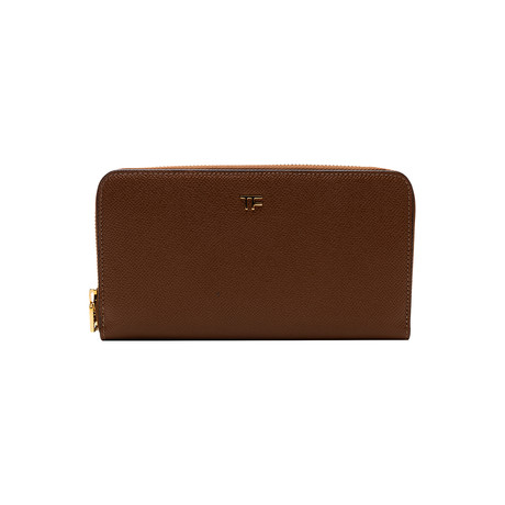Women's Leather Wallet // Ginger