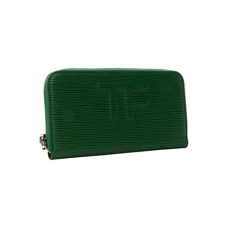 Women's Leather Wallet // Green