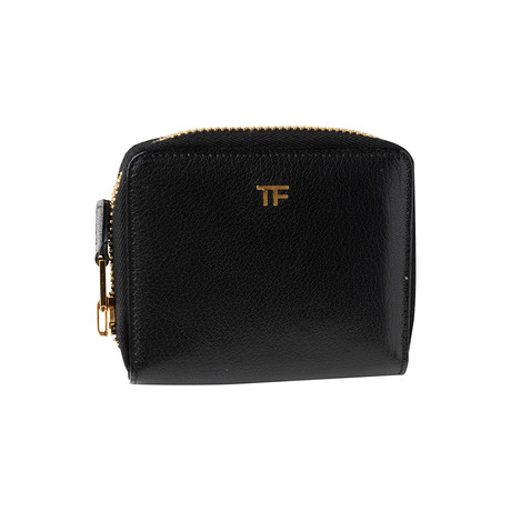 Women's Small Leather Wallet // Black