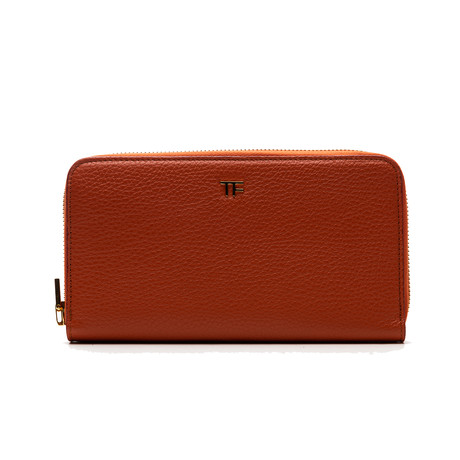 Women's Leather Wallet V1 // Orange