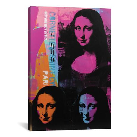 "Mona Lisa - 3 (12""W x 18""H x 0.75""D)"