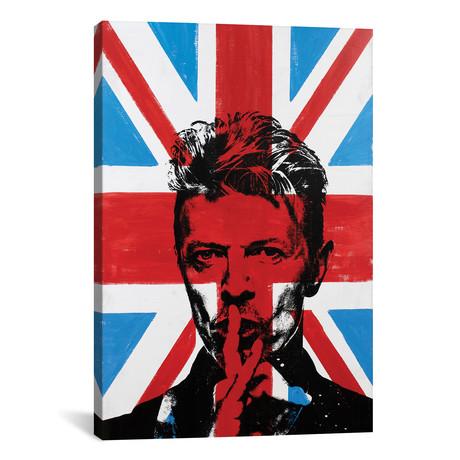 "David Bowie - Union Jack (12""W x 18""H x 0.75""D)"