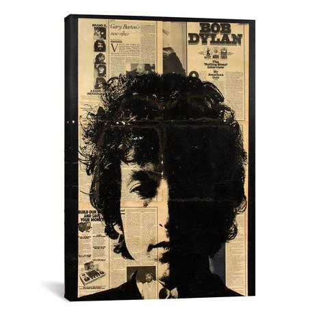"""Bob Dylan // Dane Shue (12""""W x 18""""H x 0.75""""D)"""