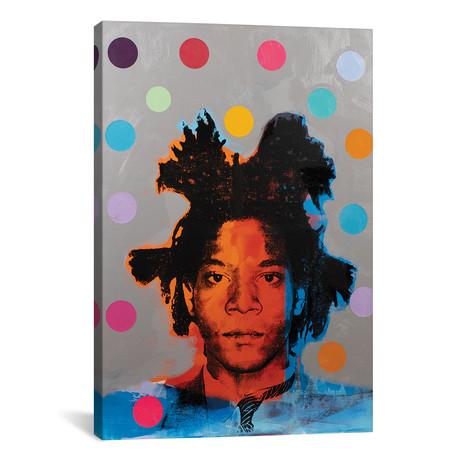 """Jean-Michel Basquiat (12""""W x 18""""H x 0.75""""D)"""