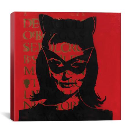 """Catwoman, Julie Newmar (12""""W x 12""""H x 0.75""""D)"""