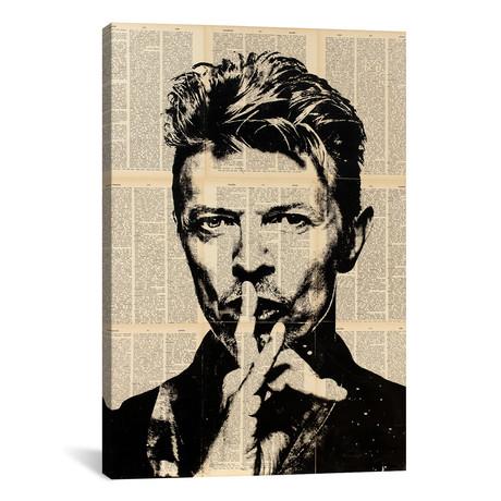 """David Bowie // Dane Shue (12""""W x 18""""H x 0.75""""D)"""