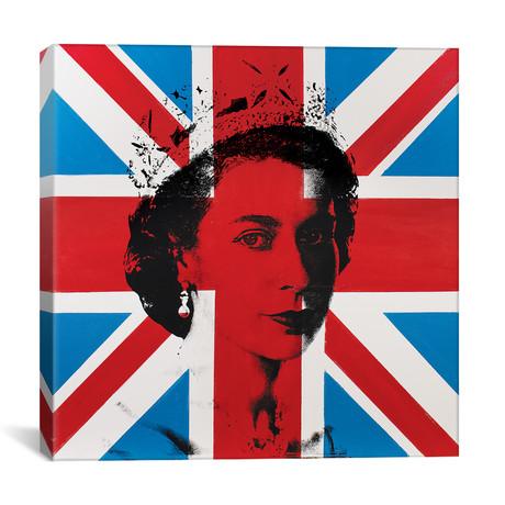 """Queen Elizabeth II (12""""W x 12""""H x 0.75""""D)"""