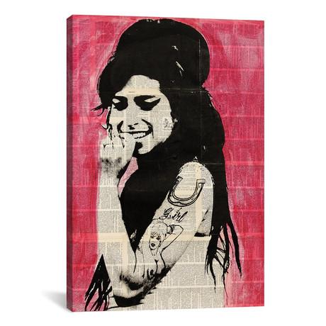 "Amy Winehouse (12""W x 18""H x 0.75""D)"