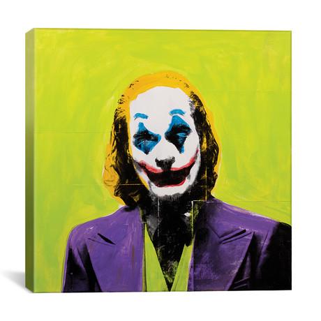 """Joker // Dane Shue (12""""W x 12""""H x 0.75""""D)"""