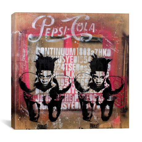 "Basquiat (12""W x 12""H x 0.75""D)"