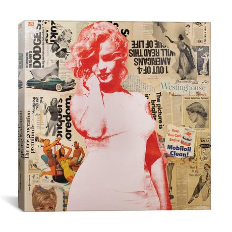 """Marilyn (12""""W x 12""""H x 0.75""""D)"""