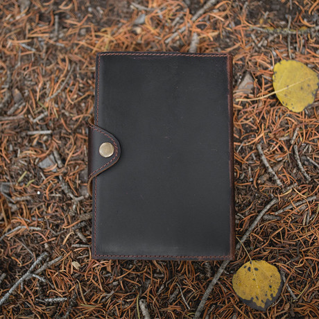 Drifter Journal // Dark Walnut
