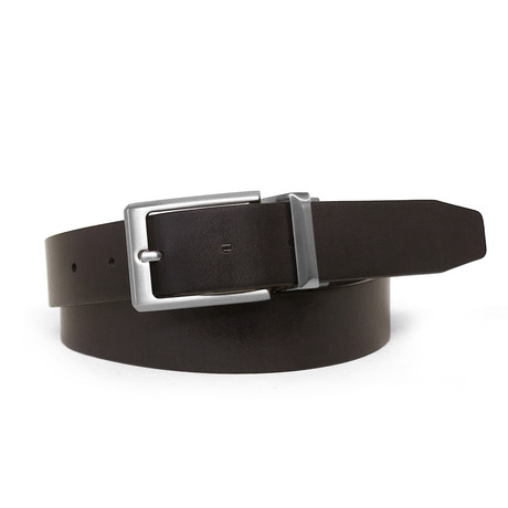 Antonio Reversible Leather Belt // Handcrafted in USA // Black + Brown (32)