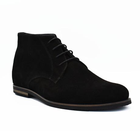 Benjamin Suede boots // Black (Euro: 39)