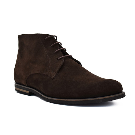 Reagan Suede boots // Dark Brown (Euro: 39)