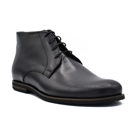 Ross Leather boots // Black (Euro: 39)