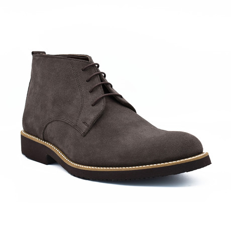 Robert Suede Boots // Taupe (Euro: 39)