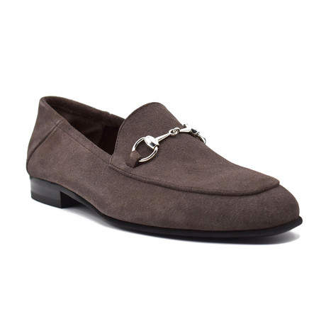 Chandler Suede Loafers // Taupe (Euro: 39)