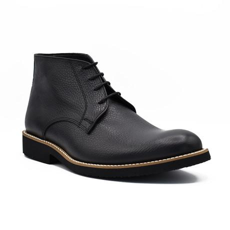 Malek Leather Boots // Black (Euro: 39)
