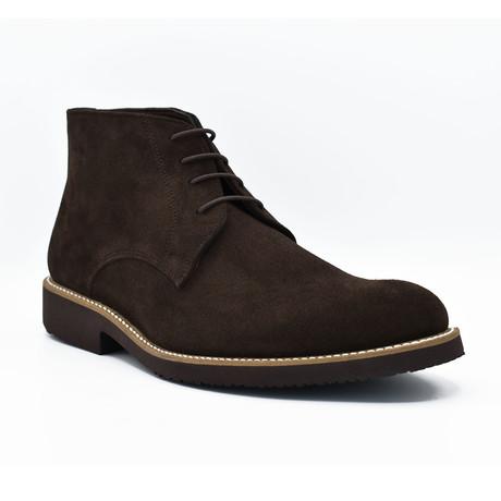 Joshua Suede Boots // Dark Brown (Euro: 39)