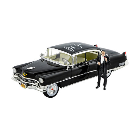 Al Pacino // Autographed The Godfather // Scale Die-Cast 1955 Cadillac Fleetwood Series 60