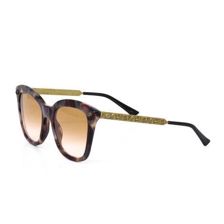 Women's Havana Cat Eye Sunglasses // Multicolor