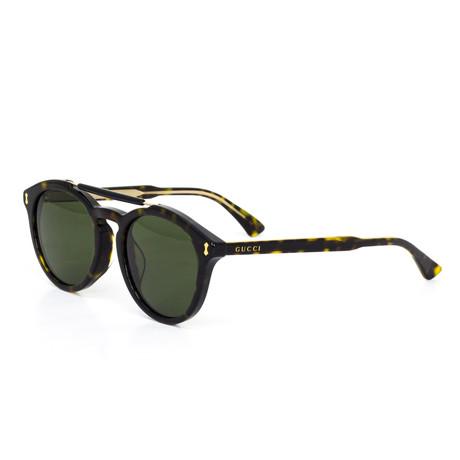 Women's Round Lens Sunglasses // Black