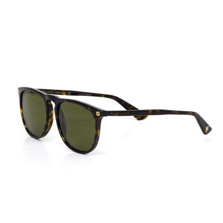 Women's Round Sunglasses // Black
