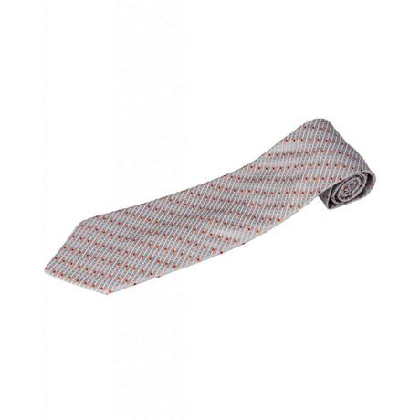 Zilli // 100% Silk Tie // Gray