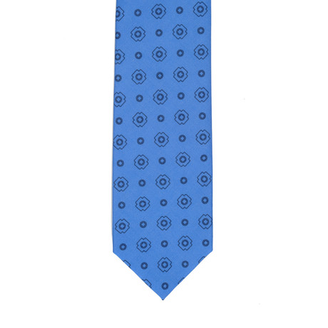 Barbutti // Geometric Tie V2 // Blue