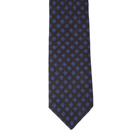 Borelli Napoli // Geometric Tie // Blue