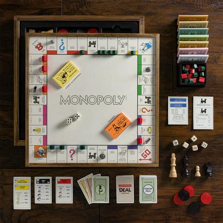 Monopoly Deluxe 5-in-1